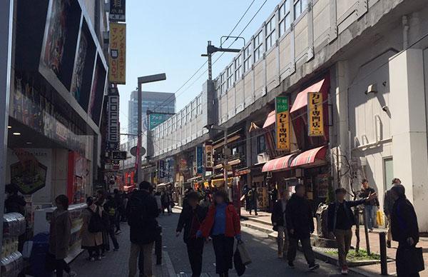 上野駅前商店街