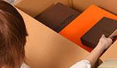 宅配買取の流れ2つめ「梱包」の画像