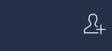 「友達追加」のイメージ図