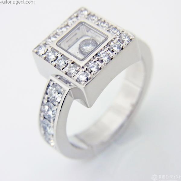 【商品名】ハッピーダイヤモンド リング 【素材】K18WG…の画像