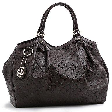 「グッチシマ ハンドバッグ チョコレート」のイメージ画像