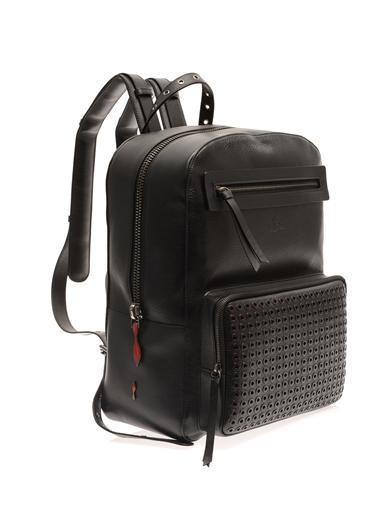 「黒スタッズ バッグパック」のイメージ画像