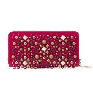 「スパイクスタッズ  ピンク長財布」のイメージ画像