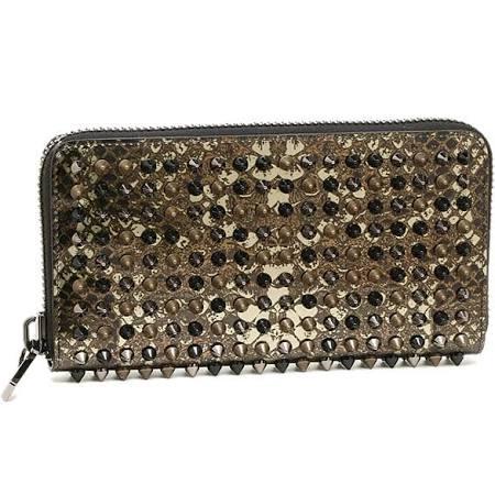 「ブラックマルチカラー 長財布」のイメージ画像
