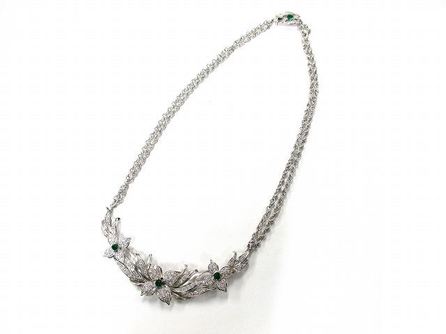 【形状】ネックレス 【素材】プラチナ 【宝石】ダイヤモン…の画像