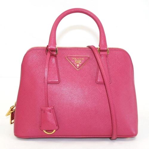 【形状】ハンドバッグ 【素材】カーフ 【色】ピンク 【…の画像
