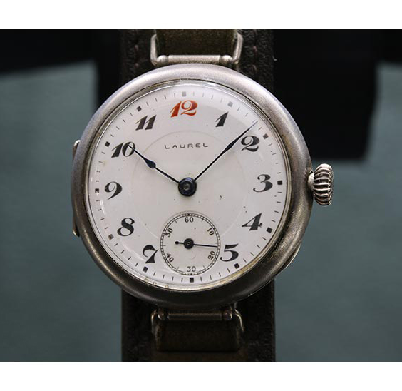 「1913年:国産初の腕時計「ローレル」誕生」のイメージ画像