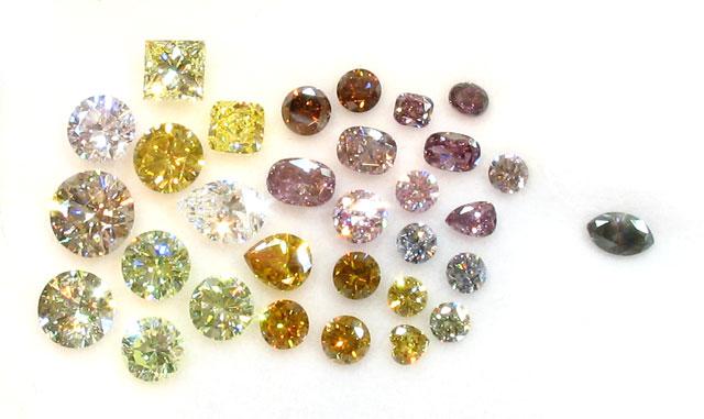 「ダイヤモンドの魅力:ファンシカラーダイヤモンド 」のイメージ画像