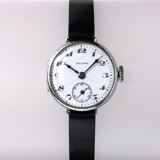 「1924年:初めて「SEIKO」を記した時計」のイメージ画像