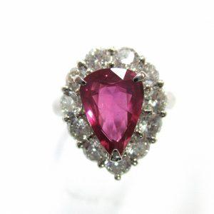 ルビー 指輪 Pt900 価格