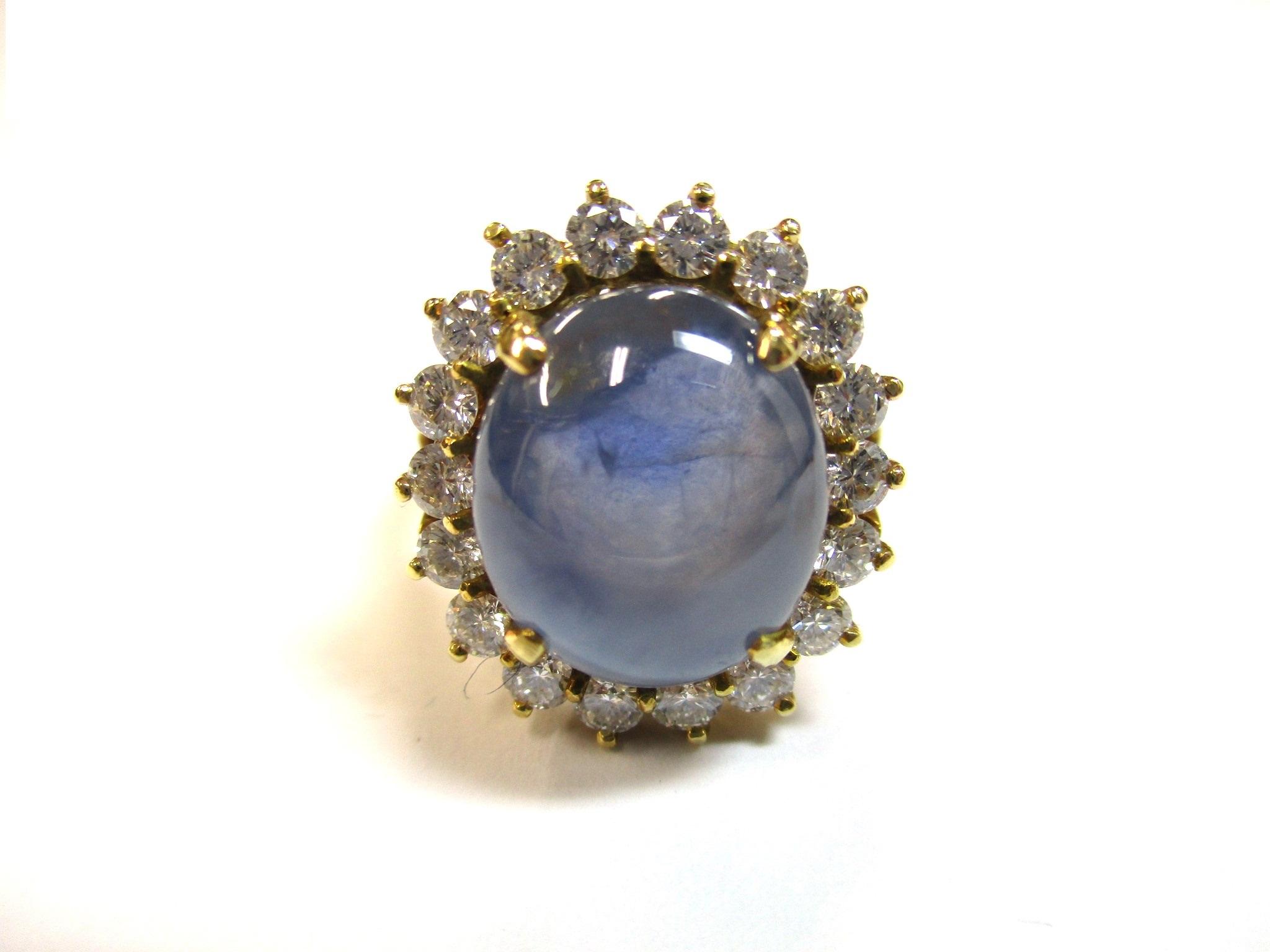 【主石】サファイア 【脇石】ダイヤモンド 【形状】リングの画像