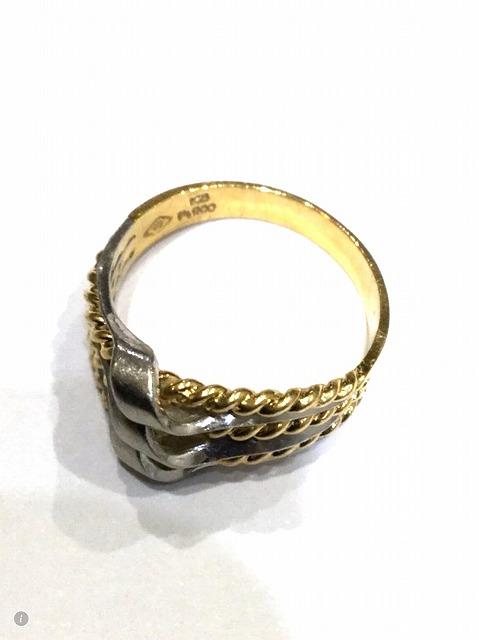 【素材】金、プラチナ 【形状】指輪の画像