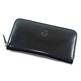 「ジッパーウォレット 長財布 ブラック」のイメージ画像