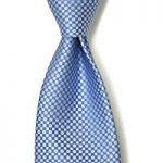 「シルク 小紋柄 サックスブルー」のイメージ画像