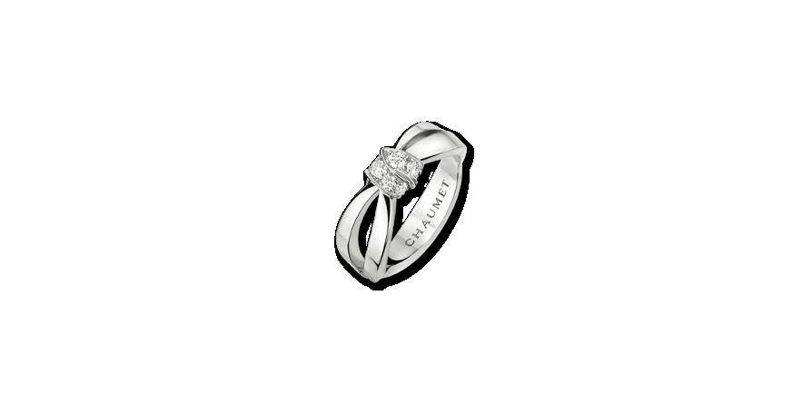 「■「リアン・セデュクシオン」リング/¥410,400(日本国内ショーメブティック価格)」のイメージ画像
