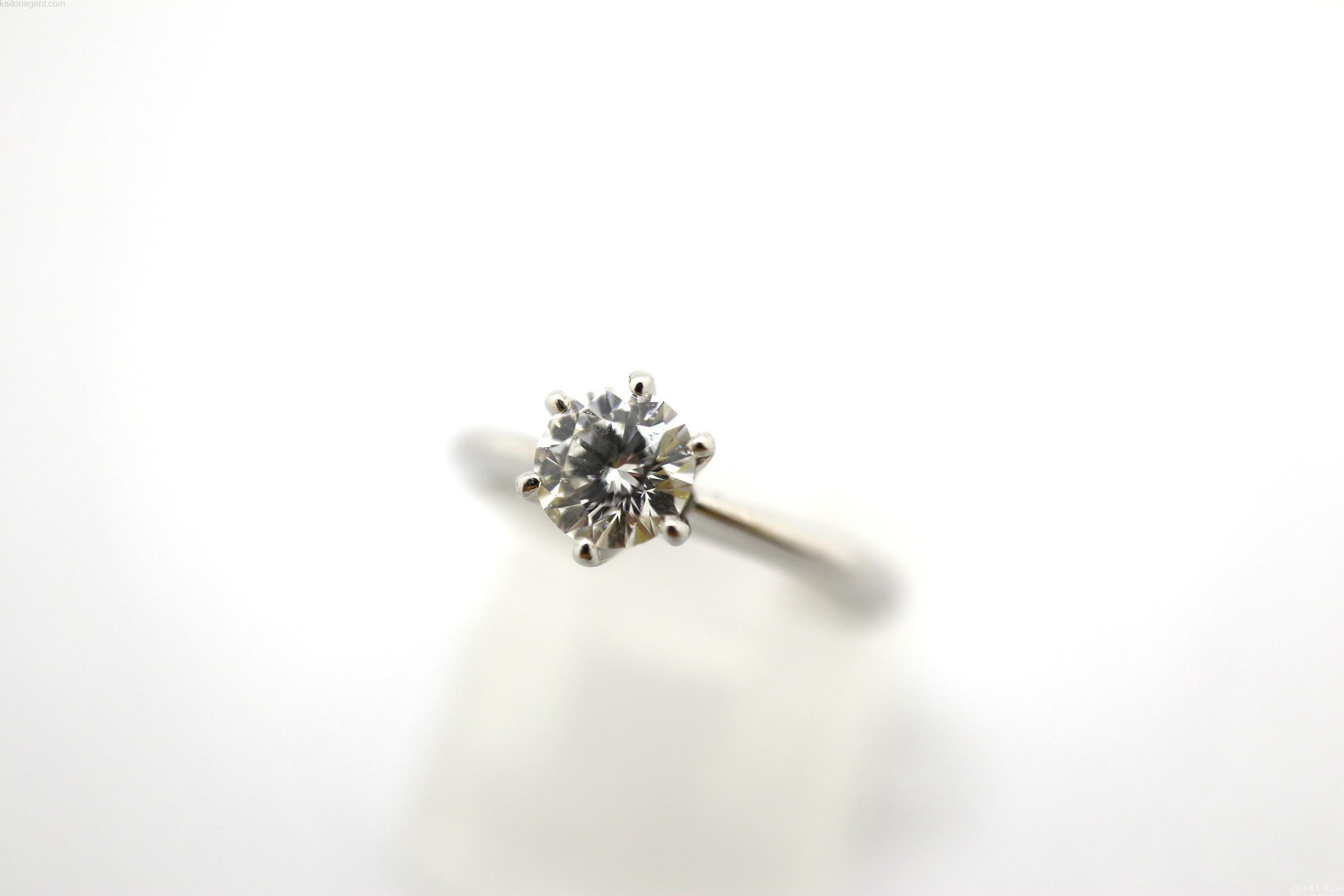 【宝石】ダイヤモンド 【素材】プラチナ の画像