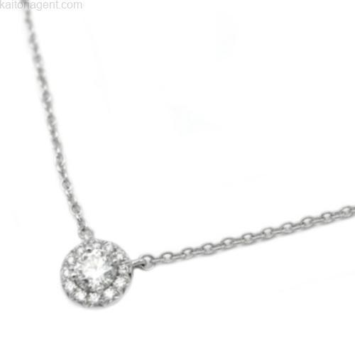 【商品名】ソレスト ネックレス 【素材】PT950×ダイヤ…の画像