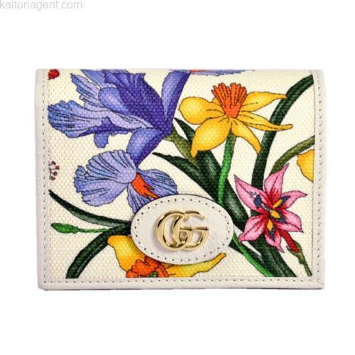 【商品名】二つ折り財布 / 日本限定品 【ライン】フローラ…の画像