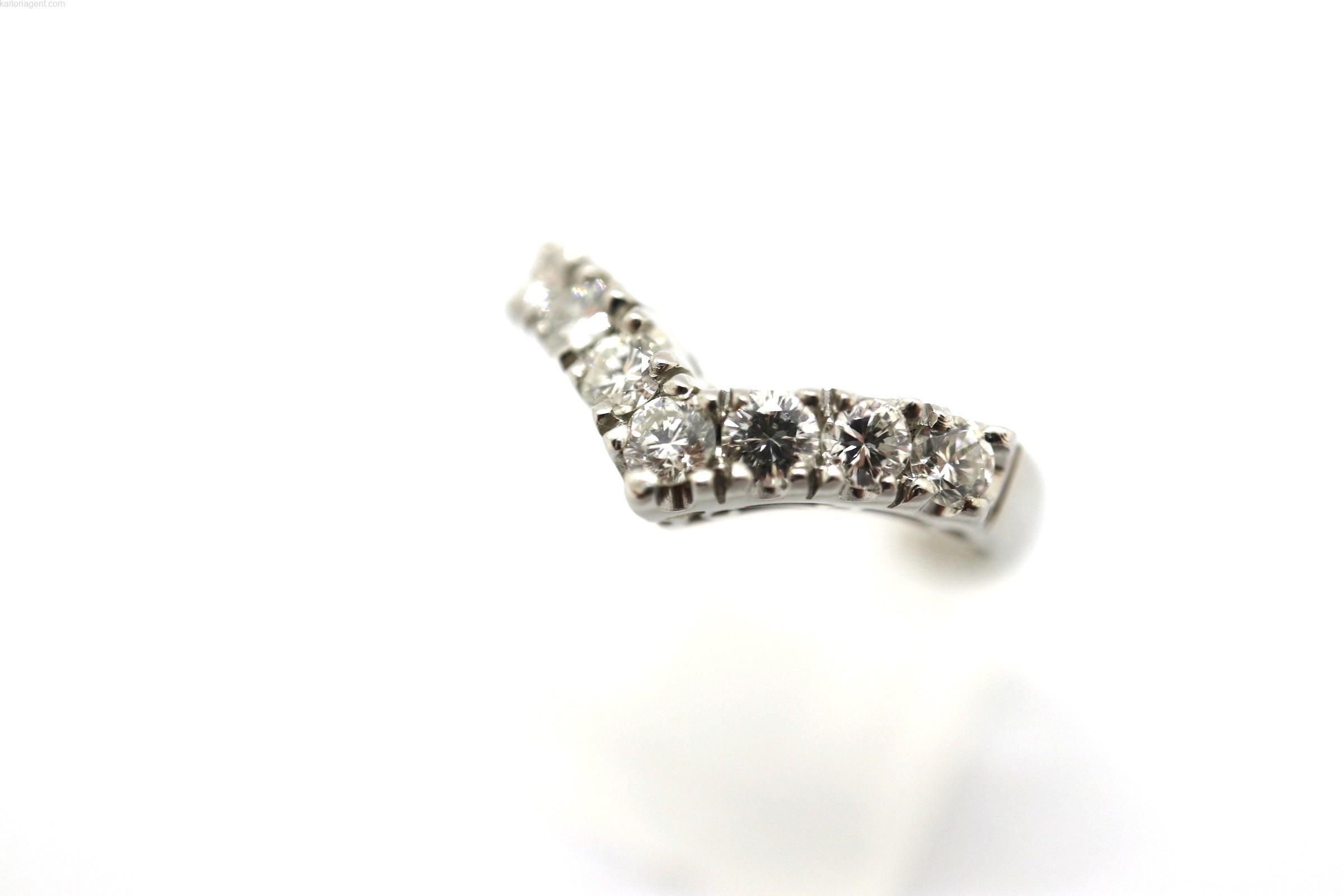 【素材】プラチナ 【主石】ダイヤモンド 【形状】リングの画像