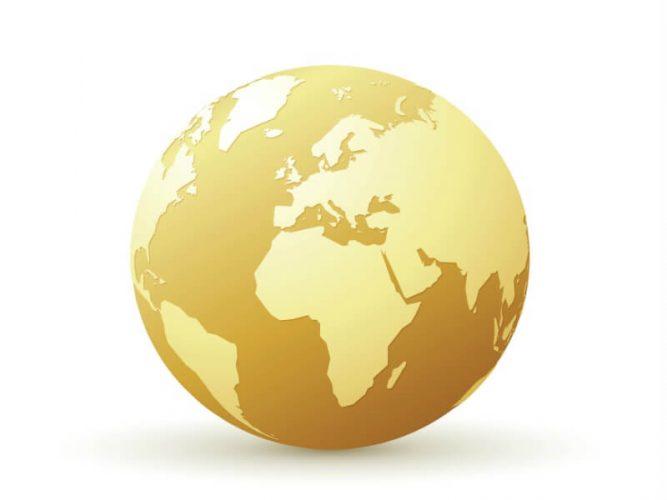 世界の金イメージ