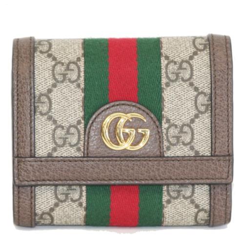オフディア 三つ折り財布GGスプリーム/ウェビングの画像