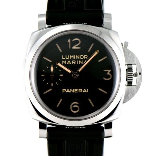 ルミノールマリーナPAM0042247mmSSブラックの画像
