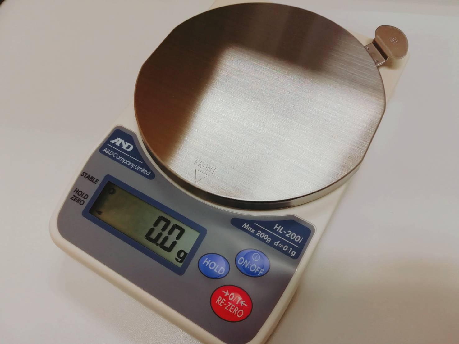 「金の重さを確認する」のイメージ画像