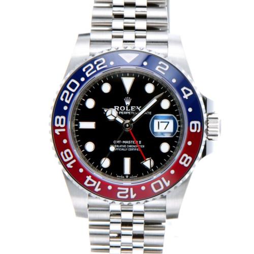 GMTマスター2 126710BLRO 青赤 SSの画像