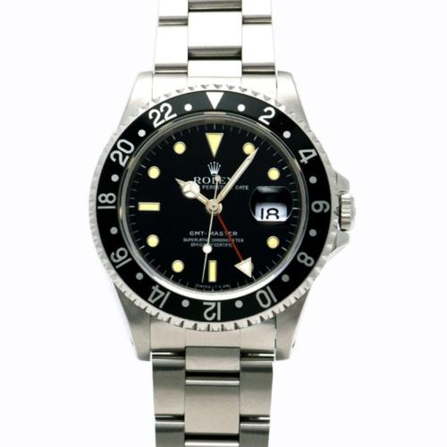 GMTマスター1 16700 黒 SSの画像