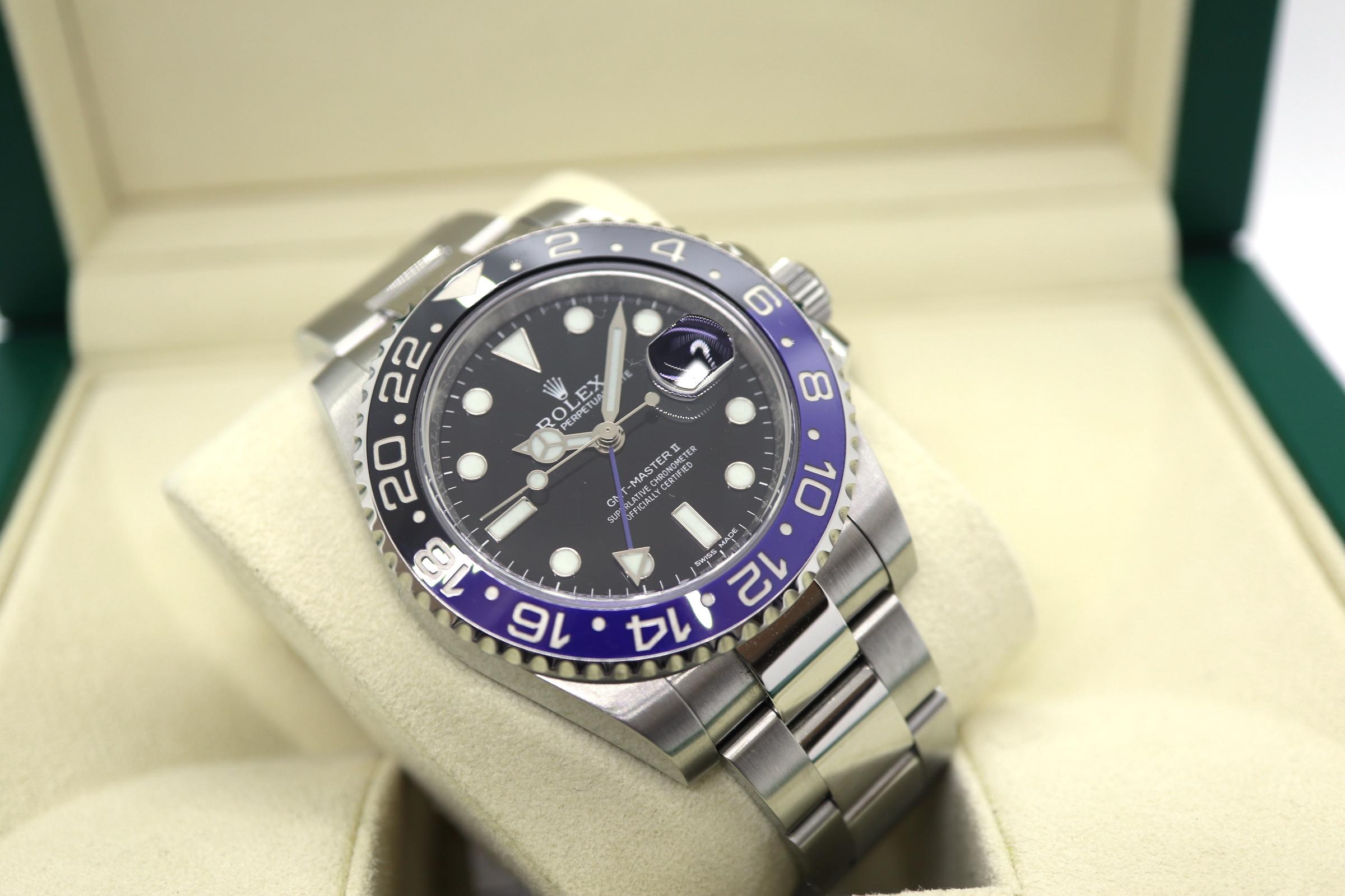 「ロレックス GMTマスターII 116710BLNR」のイメージ画像