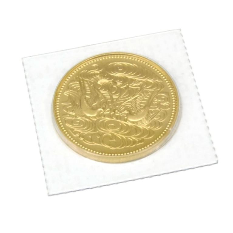 「天皇陛下御在位60年記念硬貨」のイメージ画像