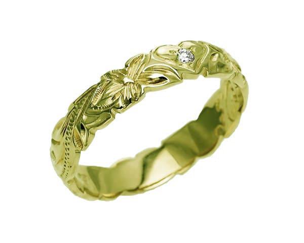 「グリーンゴールドの色や特徴」のイメージ画像