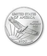 「プラチナイーグルコインの純度や重さの種類」のイメージ画像