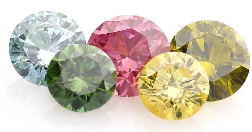 「「カラーダイヤモンド」とは?価値や特徴」のイメージ画像