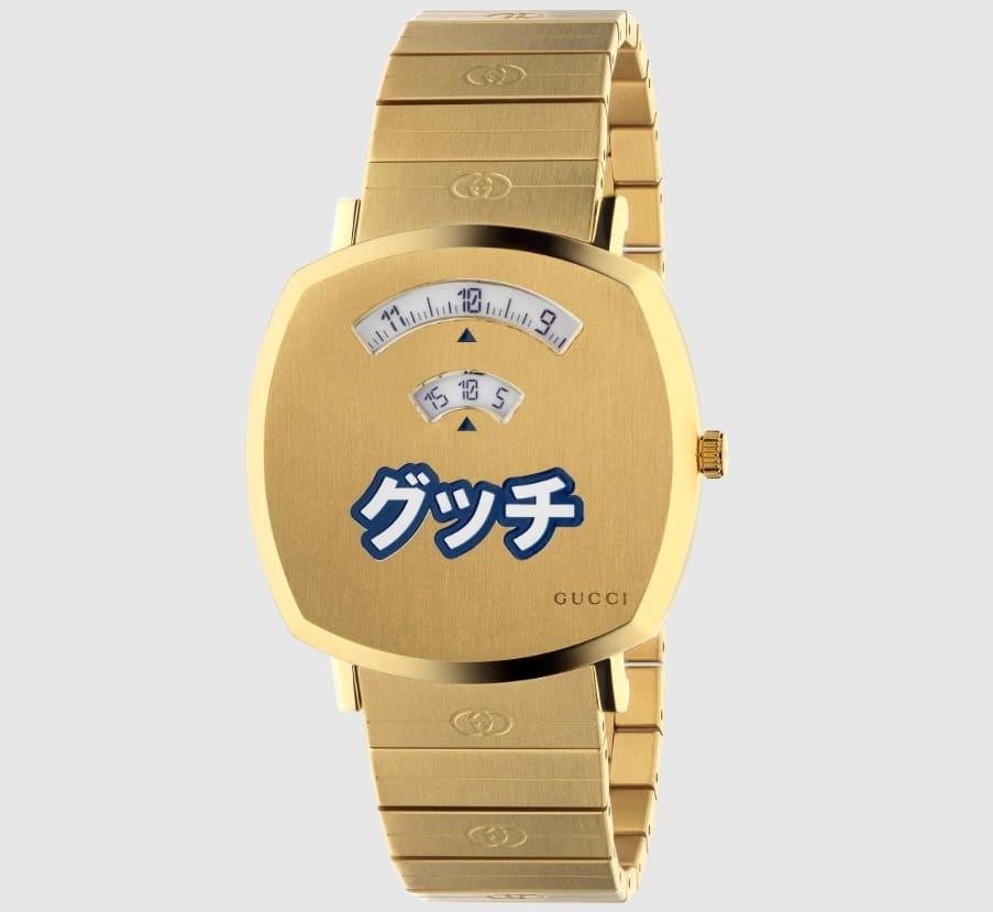 「グッチ グリップ 日本限定ウォッチの値段・金額について」のイメージ画像