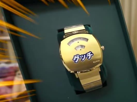 「グッチ グリップ 日本限定ウォッチ YA157428」のイメージ画像