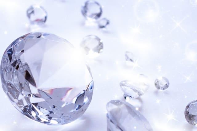 ダイヤモンド 神秘的