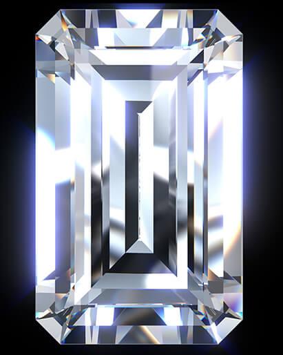 「エメラルドカット」のイメージ画像