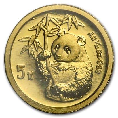 「パンダ金貨 1995」のイメージ画像