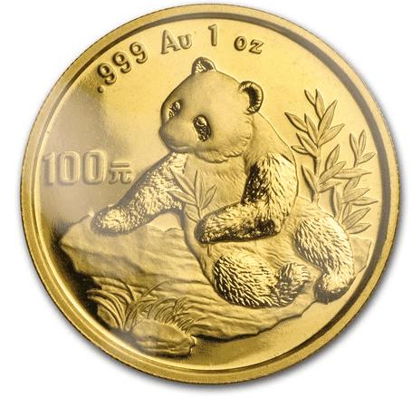 「パンダ金貨 1998」のイメージ画像