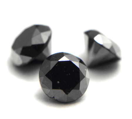 「黒い色の宝石.2「ブラック・ダイヤモンド」」のイメージ画像
