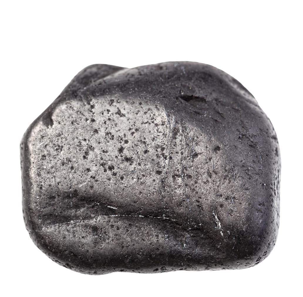 「黒い色の宝石.8「シュンガイト」」のイメージ画像
