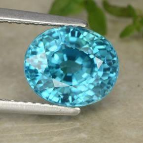 「青い色の宝石.10「ブルー・ジルコン」」のイメージ画像
