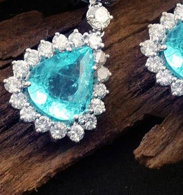 「青い色の宝石.7「ブルー・トルマリン」」のイメージ画像