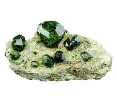 「緑色の宝石.9「デマントイド・ガーネット」」のイメージ画像
