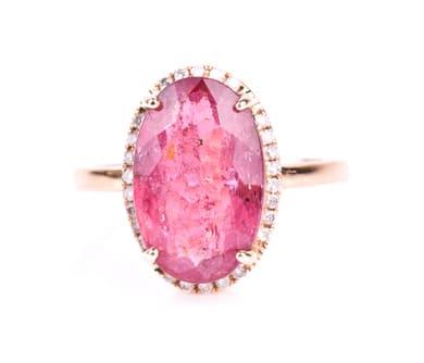 ピンク色の宝石:ピンク・トルマリン