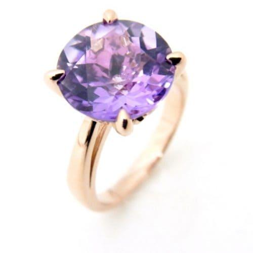 「紫色の宝石|アメシスト【紫水晶(むらさきすいしょう)】」のイメージ画像