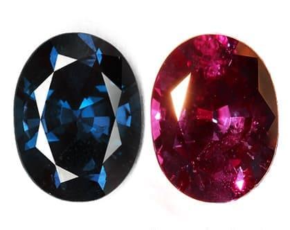 「赤い色の宝石.15「アレキサンドライト」」のイメージ画像