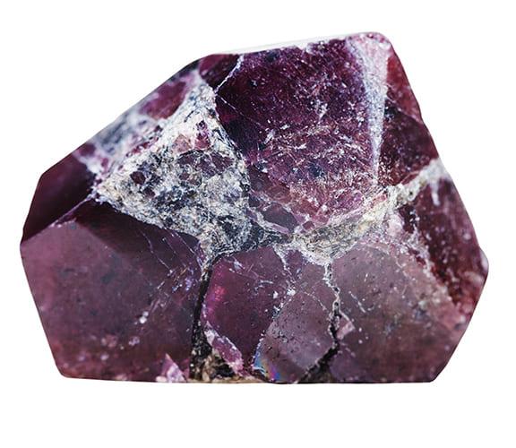 「赤い色の宝石.2「アルマディン・ガーネット」」のイメージ画像