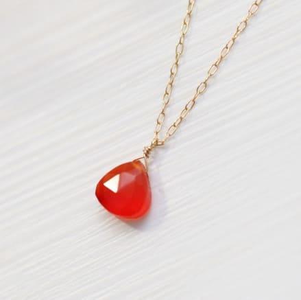 「赤い色の宝石.14「カーネリアン」」のイメージ画像